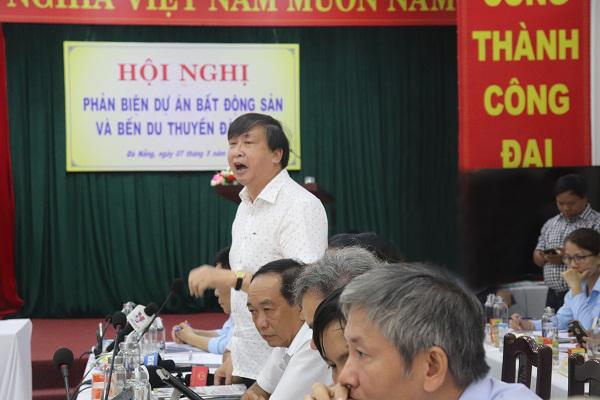 MTTQ Việt Nam TP Đà Nẵng và Hội Khoa học lịch sử Đà Nẵng tổ chức Hội thảo phản biện các dự án lấn sông Hàn. Nguồn: Báo Văn hóa.