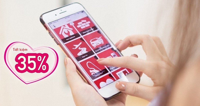 app Rada trên điện thoại di động