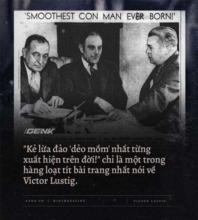Victor Lustig, kẻ lừa đảo khét tiếng đã hai lần bán tháp Eiffel - Ảnh 1.