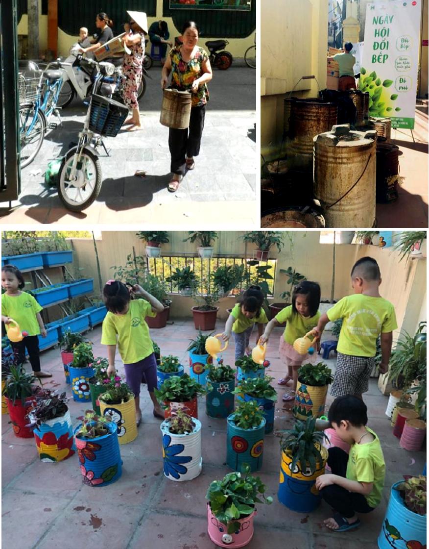 Chương trình đổi bếp cũ lấy bếp mới được thực hiện năm 2018 tại Hà Nội