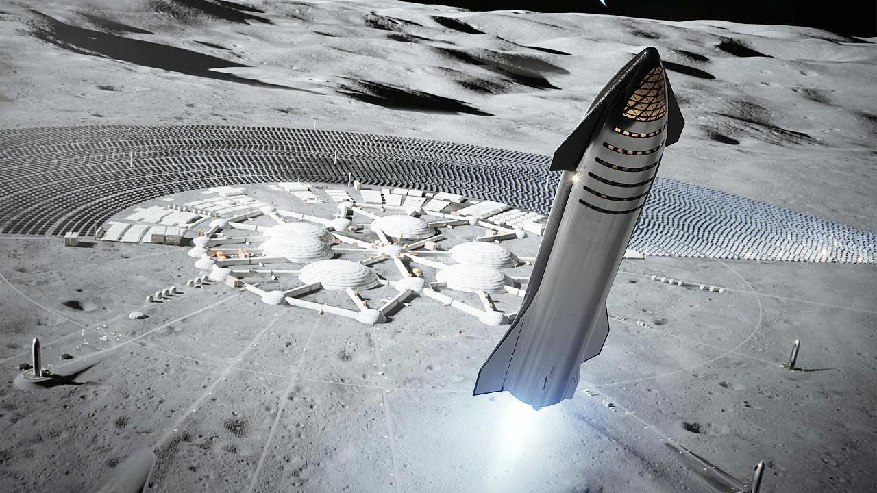 Ảnh: Tàu vũ trụ Starship. Ảnh: SpaceX.