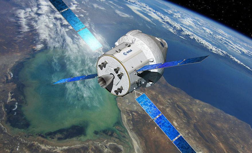 Một thiết bị vũ trụ do hãng Airbus thiết kế và chế tạo. Nguồn: nature