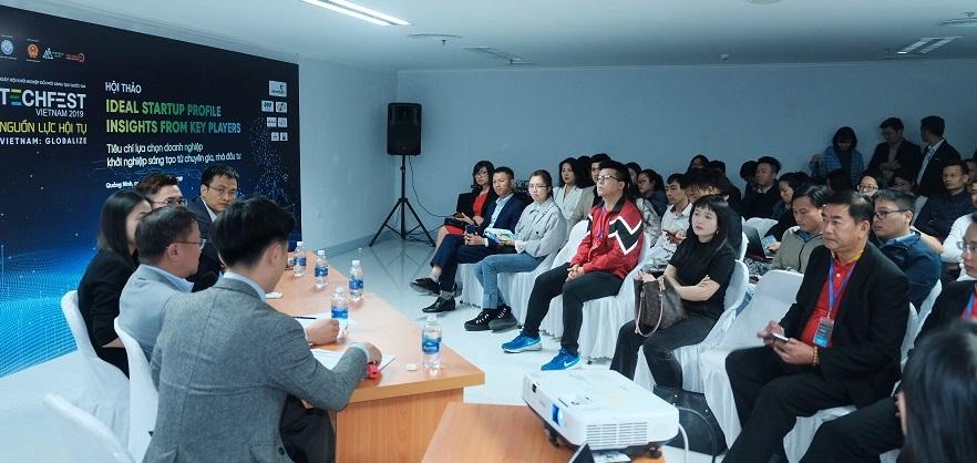 Toàn cảnh hội thảo Ideal Startup Profile: Tiêu chí lựa chọn doanh nghiệp khởi nghiệp sáng tạo từ chuyên gia, nhà đầu tư | Ảnh: BTC