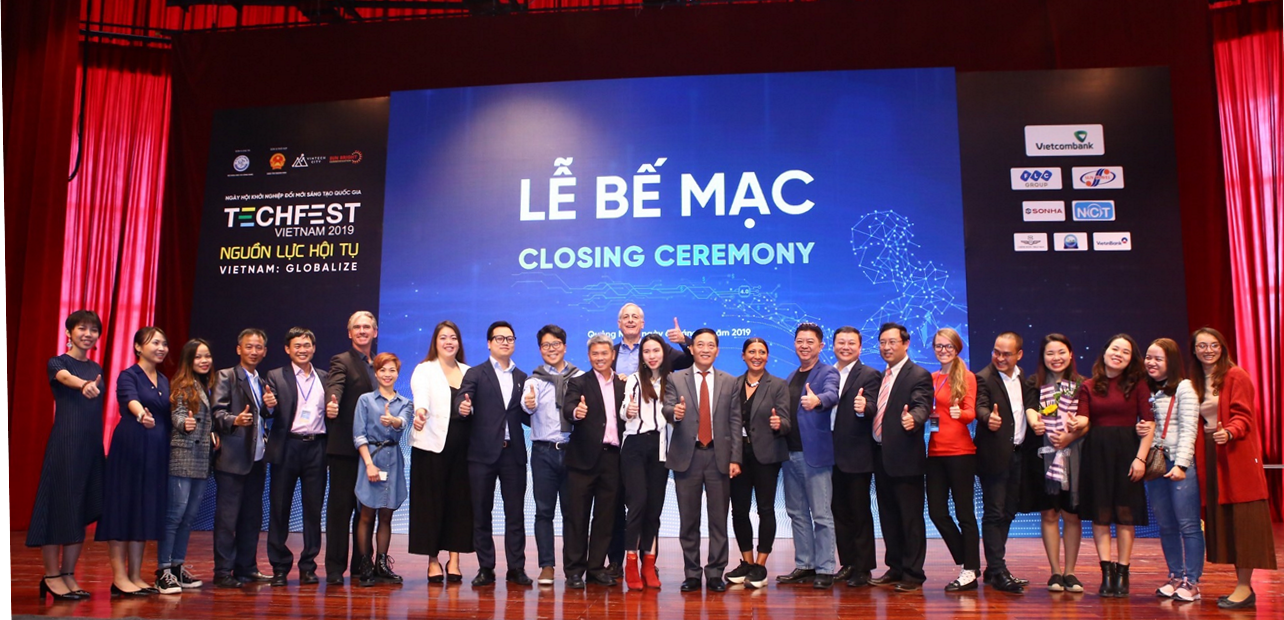Lễ bế mạc Techfest Vietnam 2019