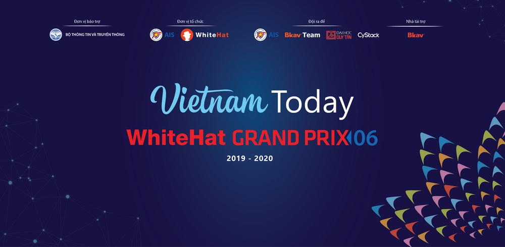 Lần đầu tiên Bộ TT&TT chính thức bảo trợ cuộc thi WhiteHat Grand Prix