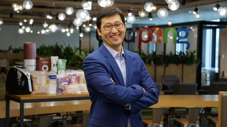 Kim Bom, nhà sáng lập Coupand, start-up giá trị nhất Hàn Quốc. Ảnh: CNBC.
