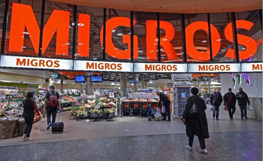 Chuỗi cửa hàng bán lẻ Migros của Thụy Sĩ. Ảnh: Migros.