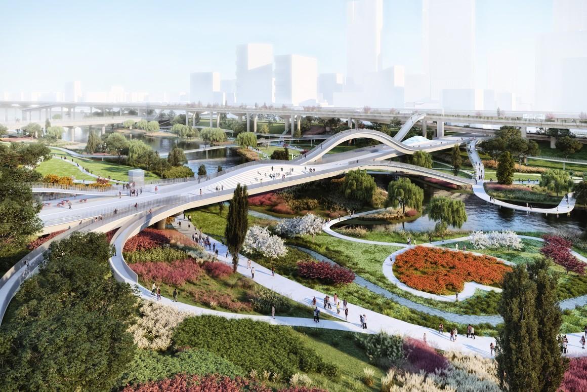 Theo kế hoạch, dự án The Weave sẽ được hoàn thành vào năm 2024. Anhr:
