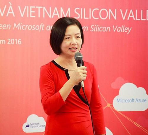 Bà Thạch Lê Anh - Nhà sáng lập Vietnam Silicon Valley Accelerator