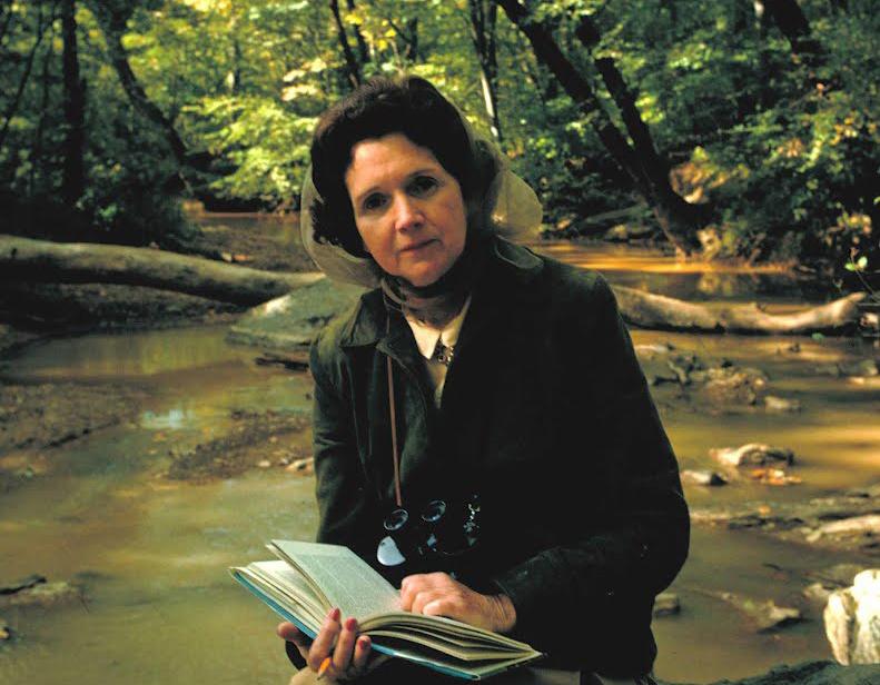 Nhà động vật học và sinh học biển Rachel Louise Carson (1907 - 1964).