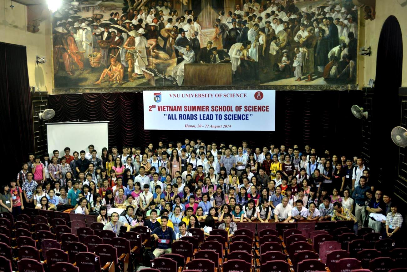 Trường học Mùa Đông về Phát triển bền vững có kế hoạch chuyển sang mùa hè và tổ chức nối tiếp Trường Hè Khoa học. Trong ảnh: Trường Hè Khoa học lần 2, tháng 8/2014 tại Hà Nội.