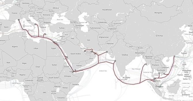 Ba tuyến cáp quang biển cùng gặp sự cố, dung lượng đường truyền Internet quốc tế giảm 30%