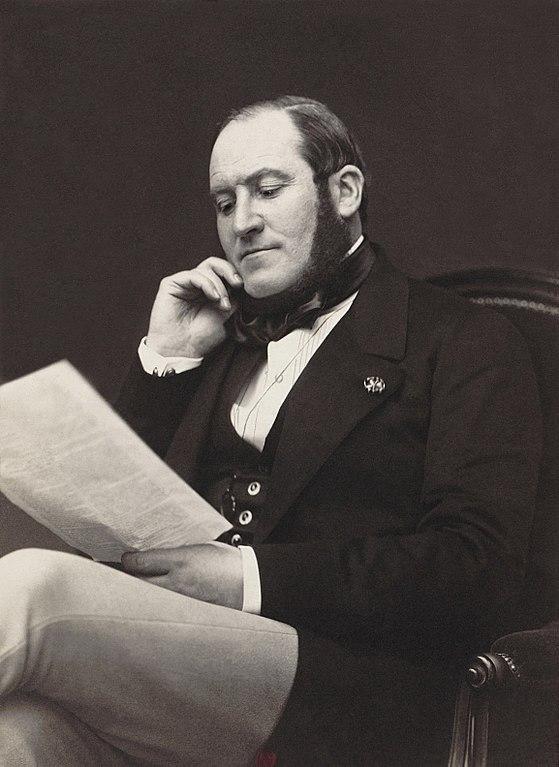 Thị trưởng Paris Georges-Eugène Haussmann dưới thời Napoleon III. Ảnh: Wikimedia.