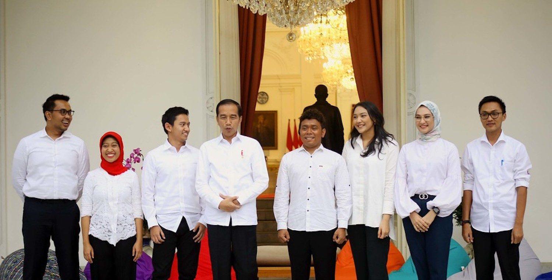 Các cố vấn thế hệ mới của Tổng thống Widodo