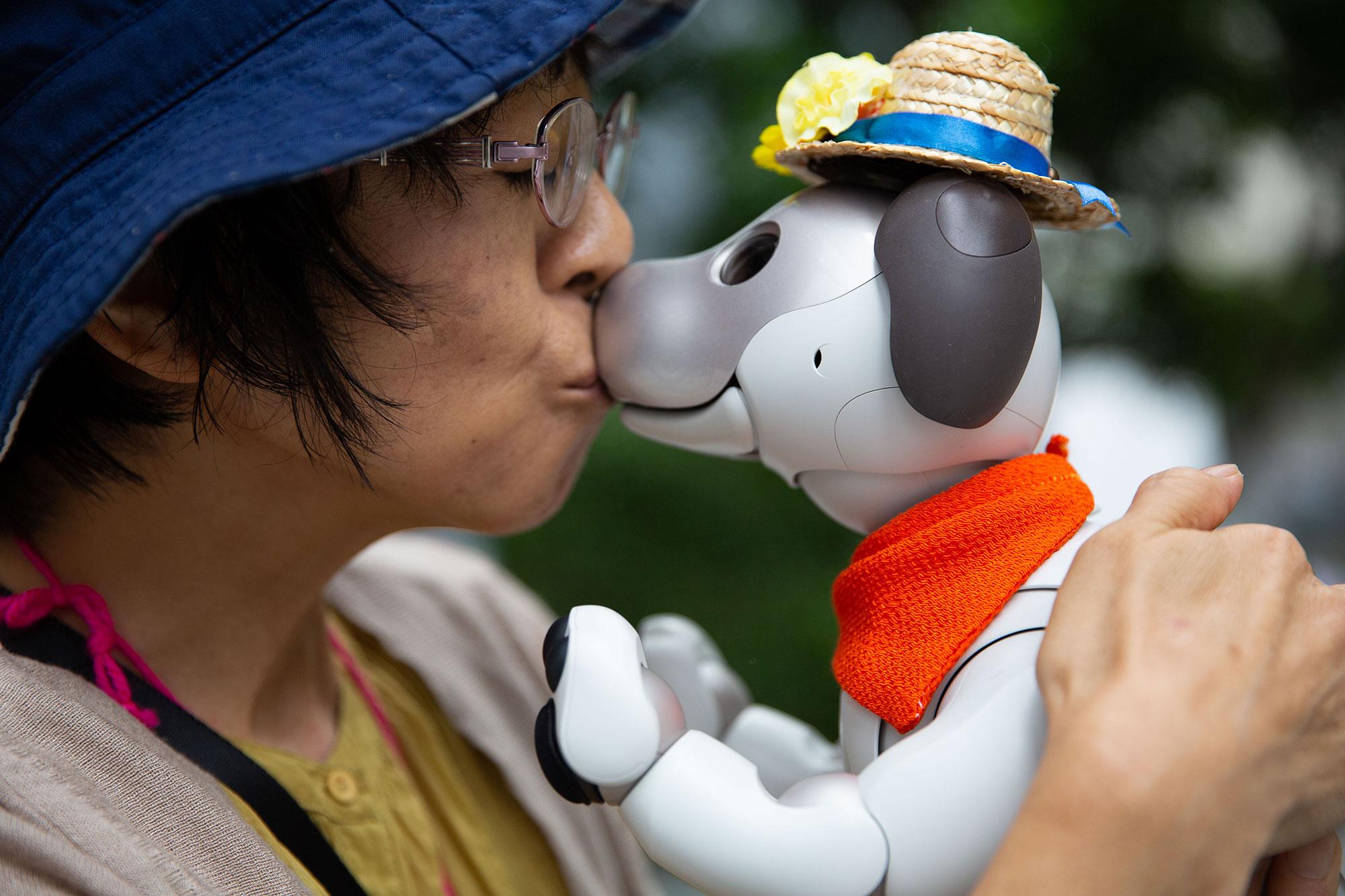 Nhiều người yêu động vật chuyển sang nuôi thú robot vì không chịu nổi nỗi đau khi chứng kiến thú cưng (bằng xương thịt) qua đời. Ảnh: