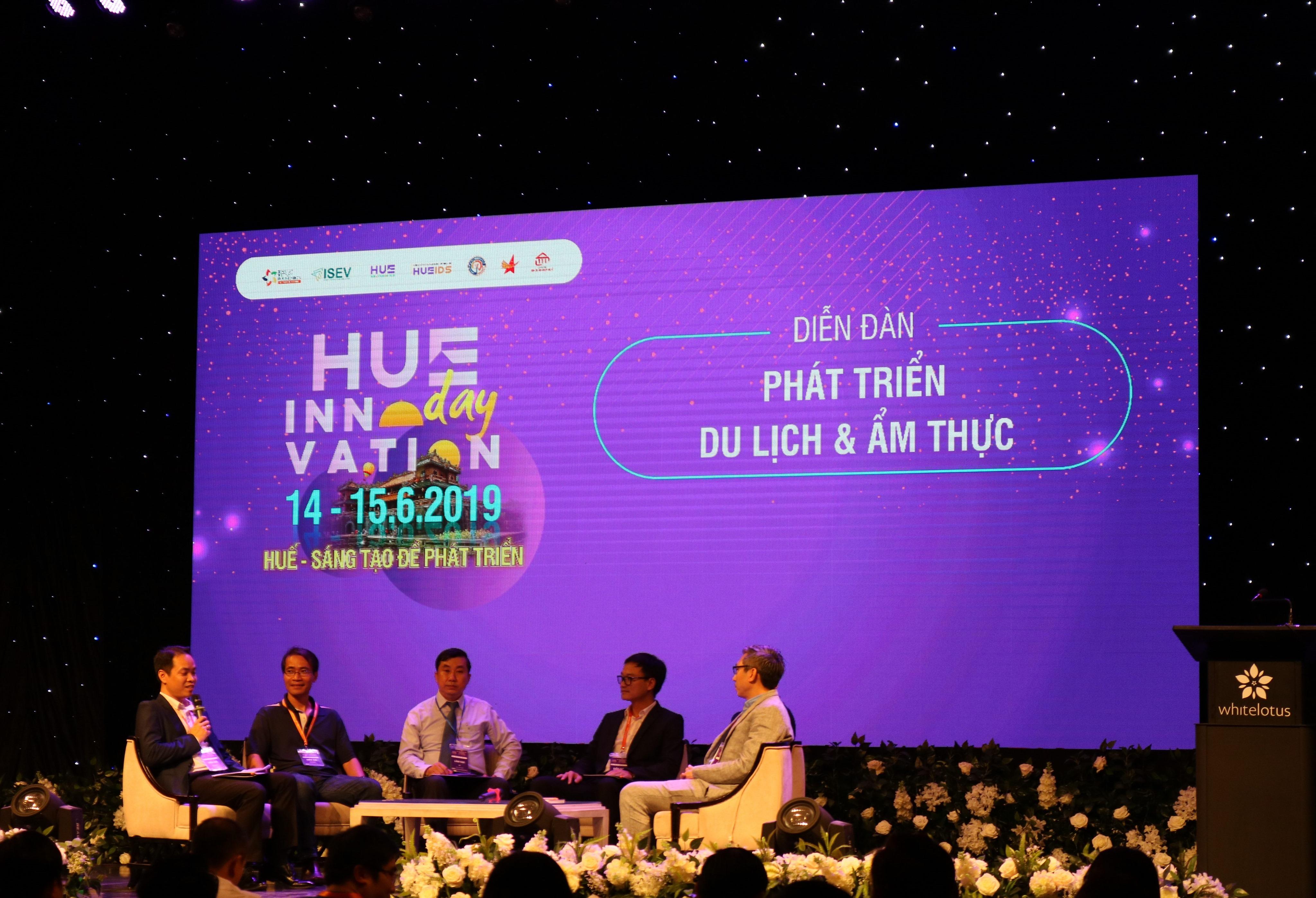 Diễn đàn Phát triển Du lịch & Ẩm thực trong chuỗi sự kiện Hue Innovation Day năm 2019