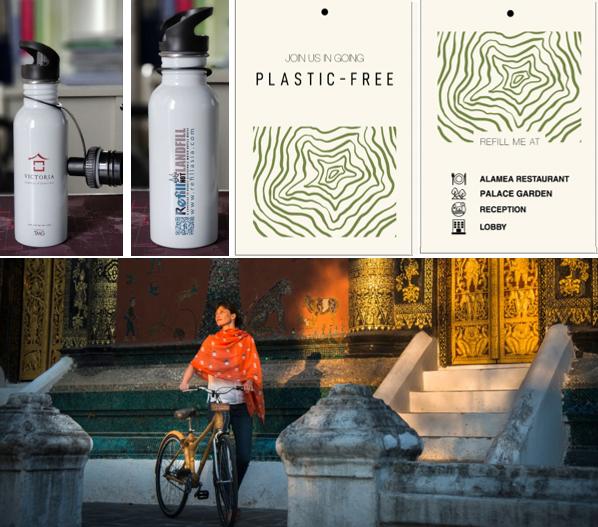 Một vài khách sạn của tập đoàn Thiên Minh đã sử dụng chai nước dùng nhiều lần thay vì cung cấp chai nhựa cho khách hàng