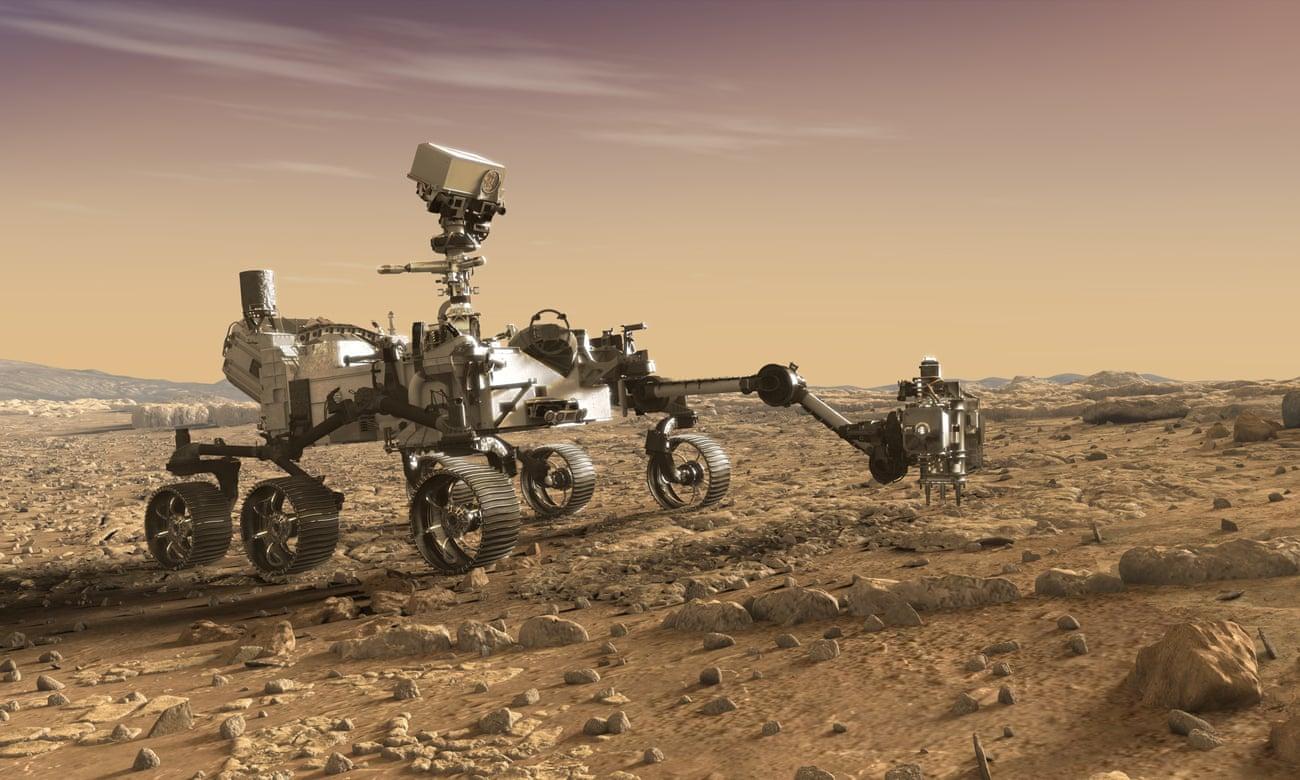 Robot thám hiểm tự hành Mars 2020 của NASA. Ảnh: JPL-Caltech.