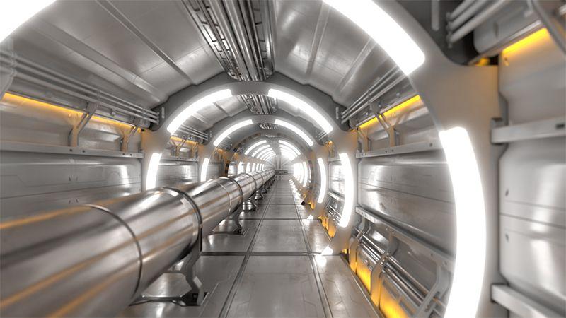 CERN dự định xây một máy gia tốc hạt có kích thước khổng lồ trong tương lai. Ảnh: CERN.