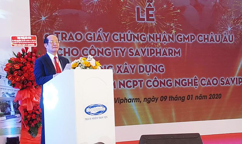 Ông Trần Tựu, Tổng Giám đốc SAVIPHARM    Ảnh: KA