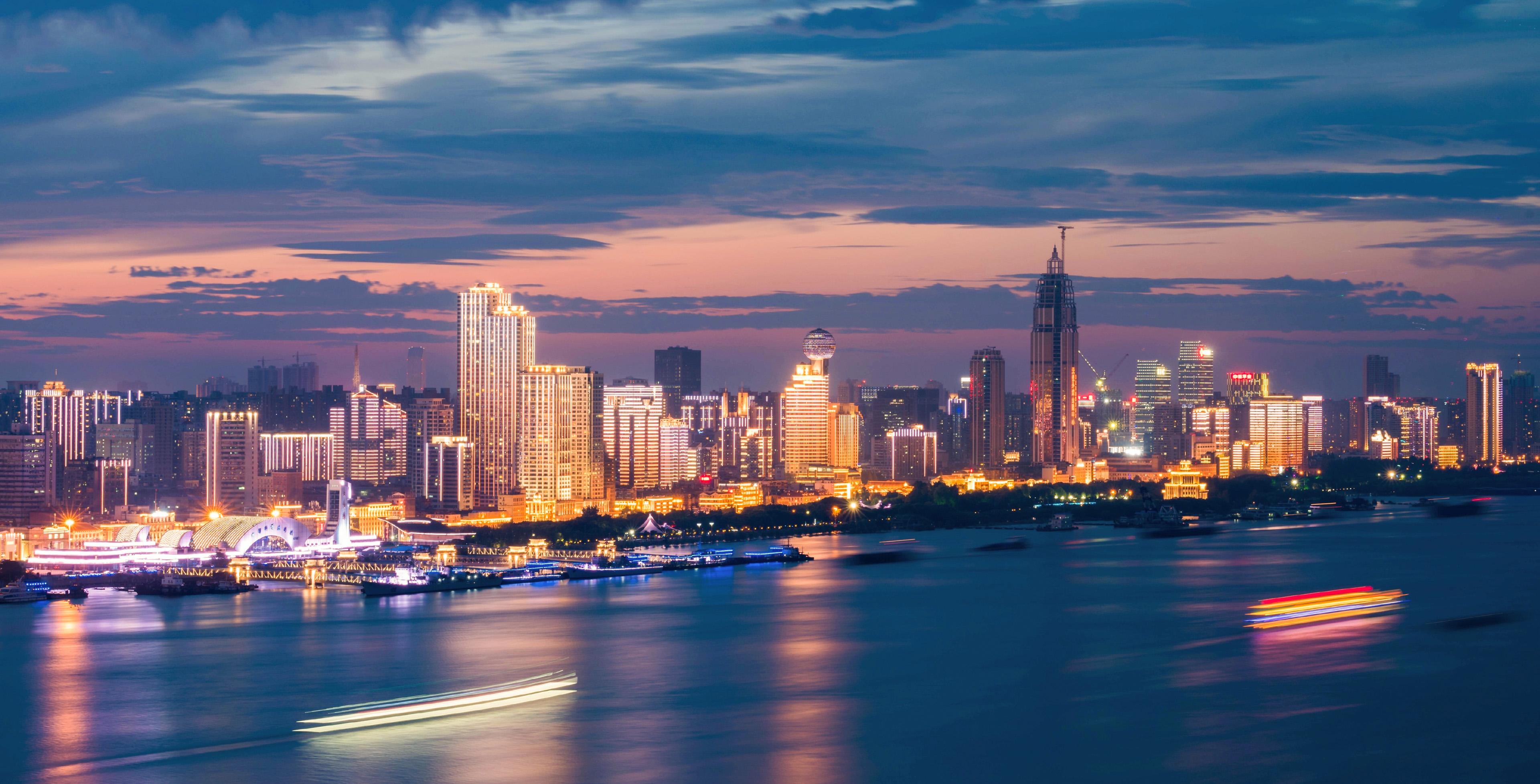 Vũ Hán, trung tâm thương mại và công nghiệp, được mệnh danh là Chicago của Trung Quốc. Ảnh: Prologis.