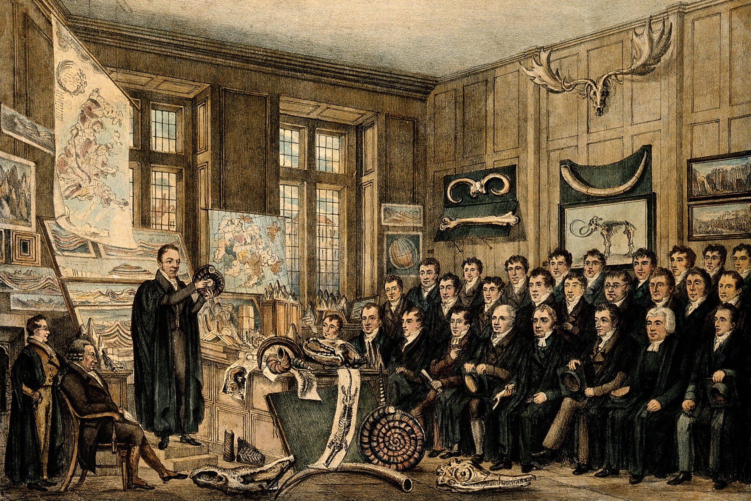 Một buổi giảng bài tại Bảo tàng Ashmolean. Ảnh: Wikimedia Commons