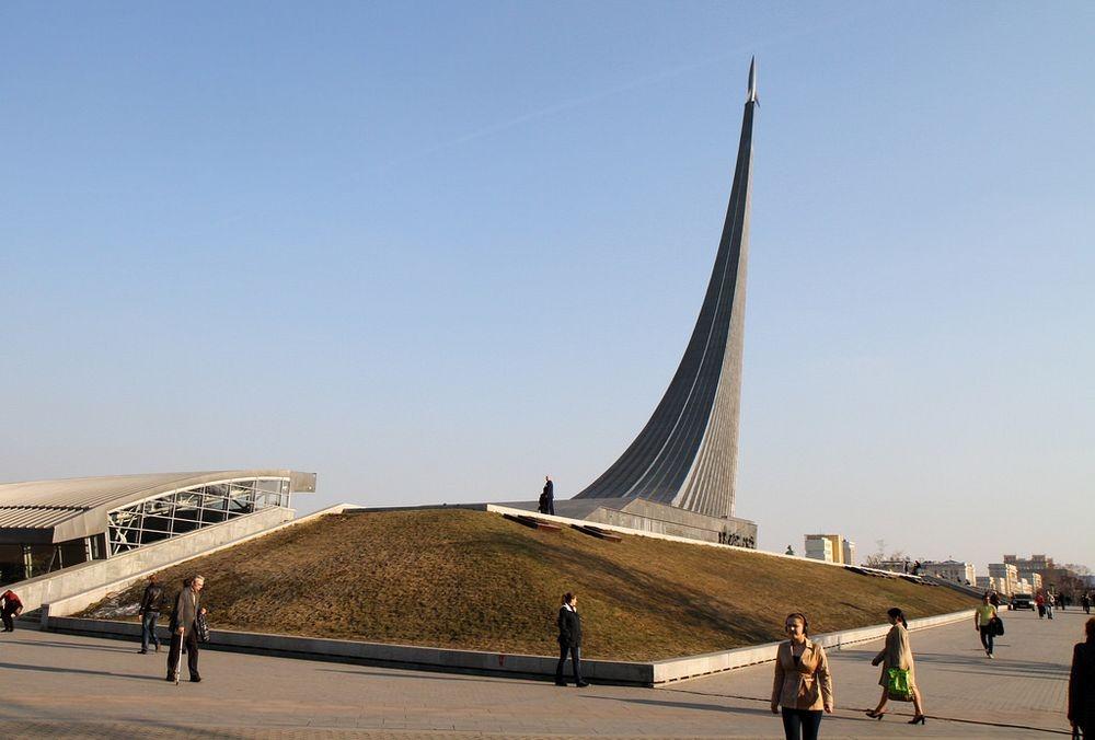 Đài kỷ niệm thành tựu không gian của Liên Xô. Ảnh: Flickr.