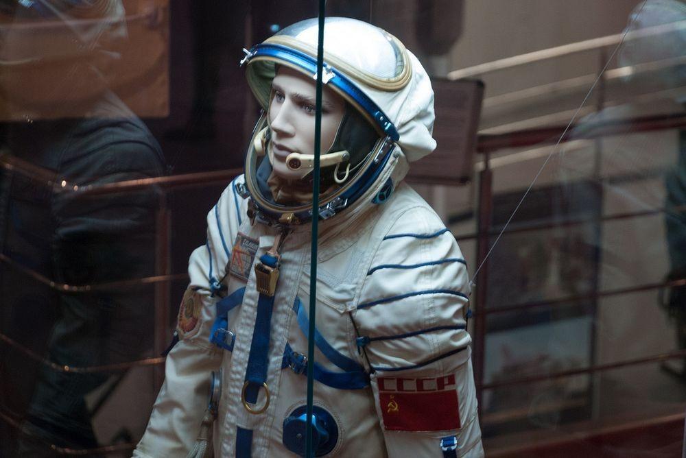 Bộ quần áo của phi hành gia Yuri Gagarin. Ảnh: Flickr.