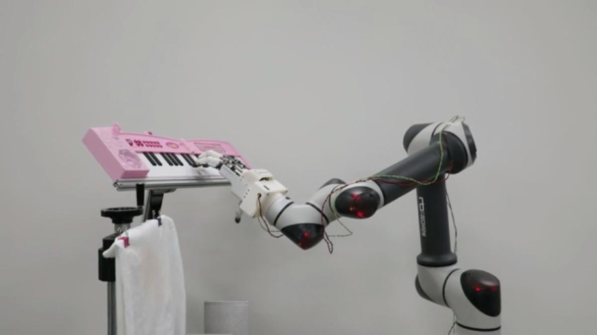 Bàn tay robot là thành quả nghiên cứu của các nhà khoa học tại Viện KIMM (Hàn Quốc). Ảnh: KIMM.