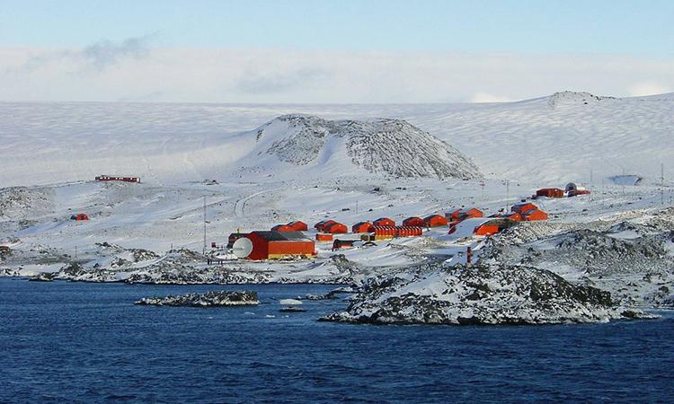 Cơ sở nghiên cứu Esperanza trên bán đảo Nam Cực. Ảnh: Wikivoyage.