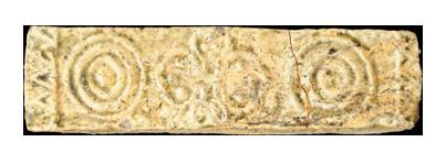 Gạch xây mộ. Nguồn: Bộ môn khảo cổ học