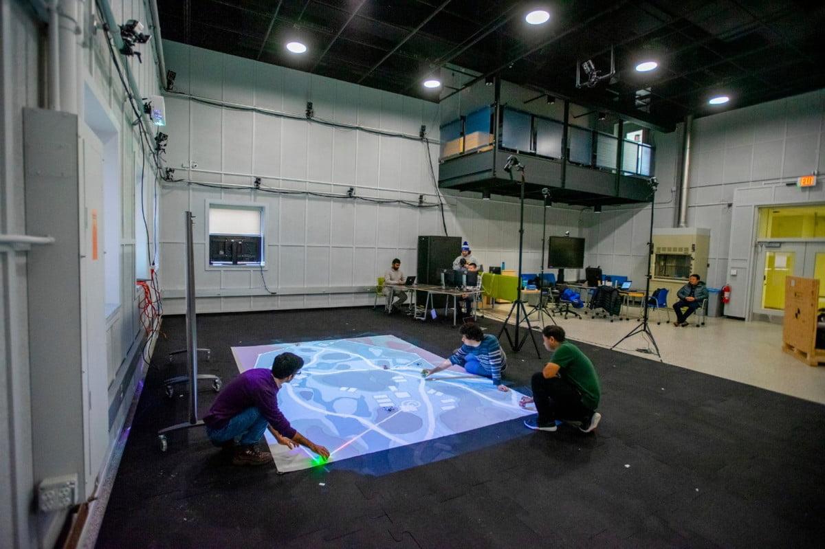 Một game video được nhóm nghiên cứu của Đại học Buffalo phát triển riêng cho các game thủ tham gia dự án. Ảnh: University of Buffalo.