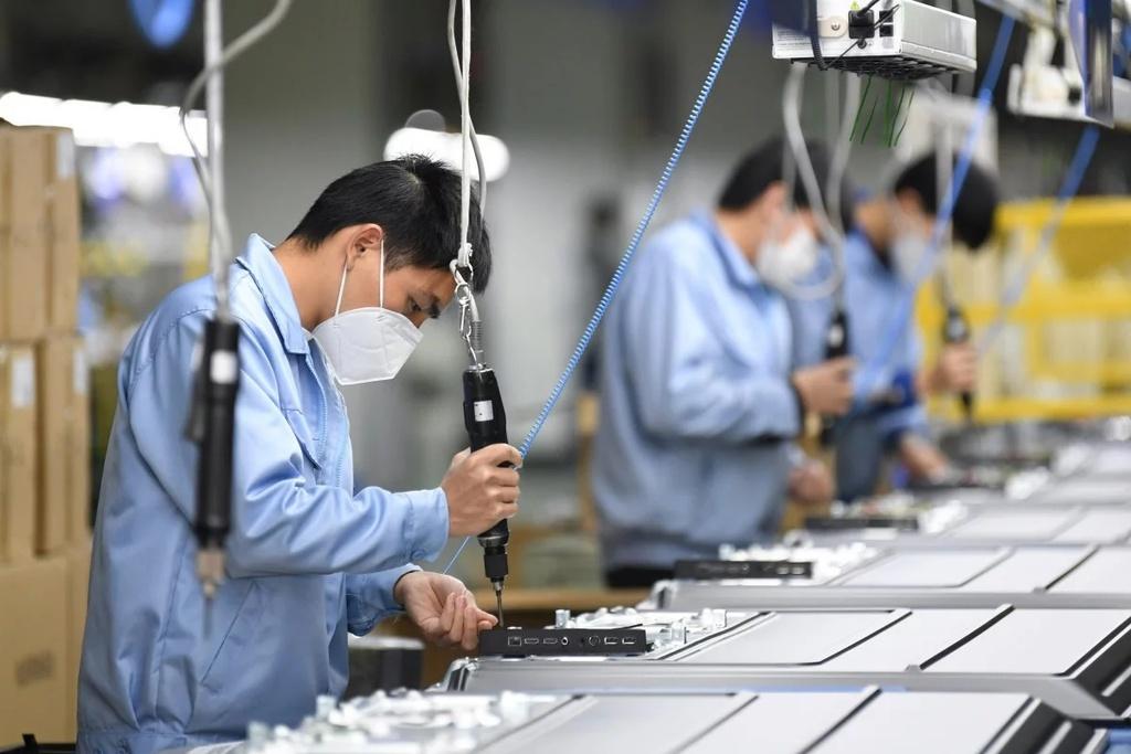 Trung Quốc là mắt xích quan trọng trong nhiều chuỗi cung toàn cầu | Ảnh: Xinhua