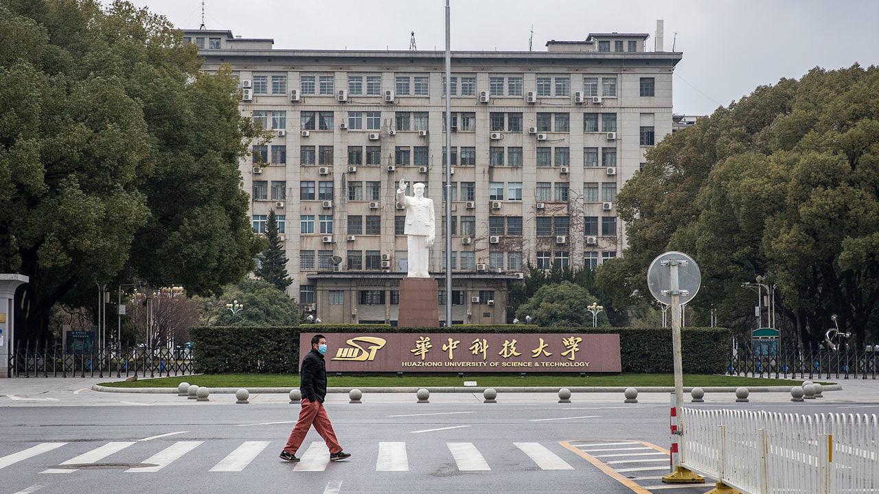 Đại học Khoa học và Kỹ thuật Hoa Trung tại Vũ Hán - một trong số hàng trăm trường đại học khắp Trung Quốc phải đóng cửa vì dịch Covid-19. Nguồn: Science.