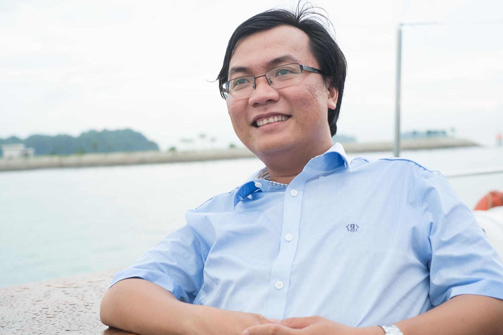 Ông Bùi Hải An - Giám đốc điều hành Timo Digital Bank.