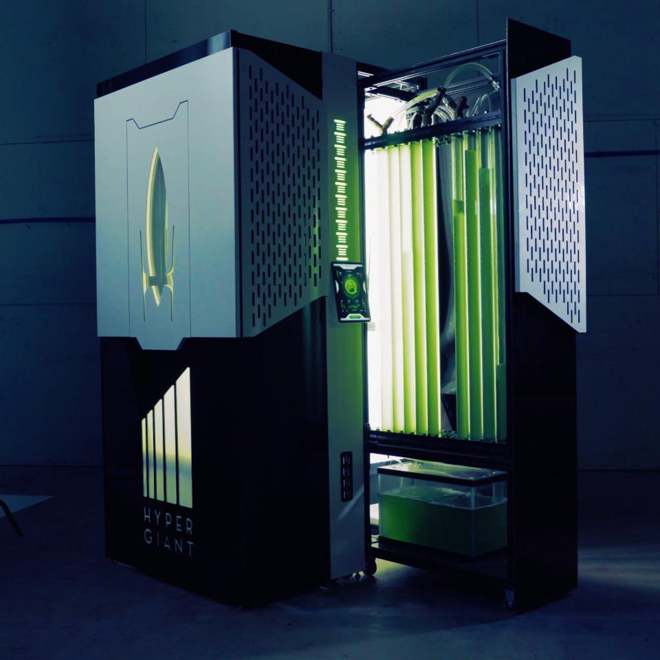 Thiết bị bioreactor của Hypergiant Technologies. Ảnh: Hypergiants.