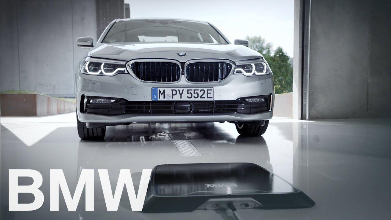 Thiết bị xạc không dây cho ô tô điện của BMW mới được ra mắt cách đây không lâu. Ảnh: BMW.