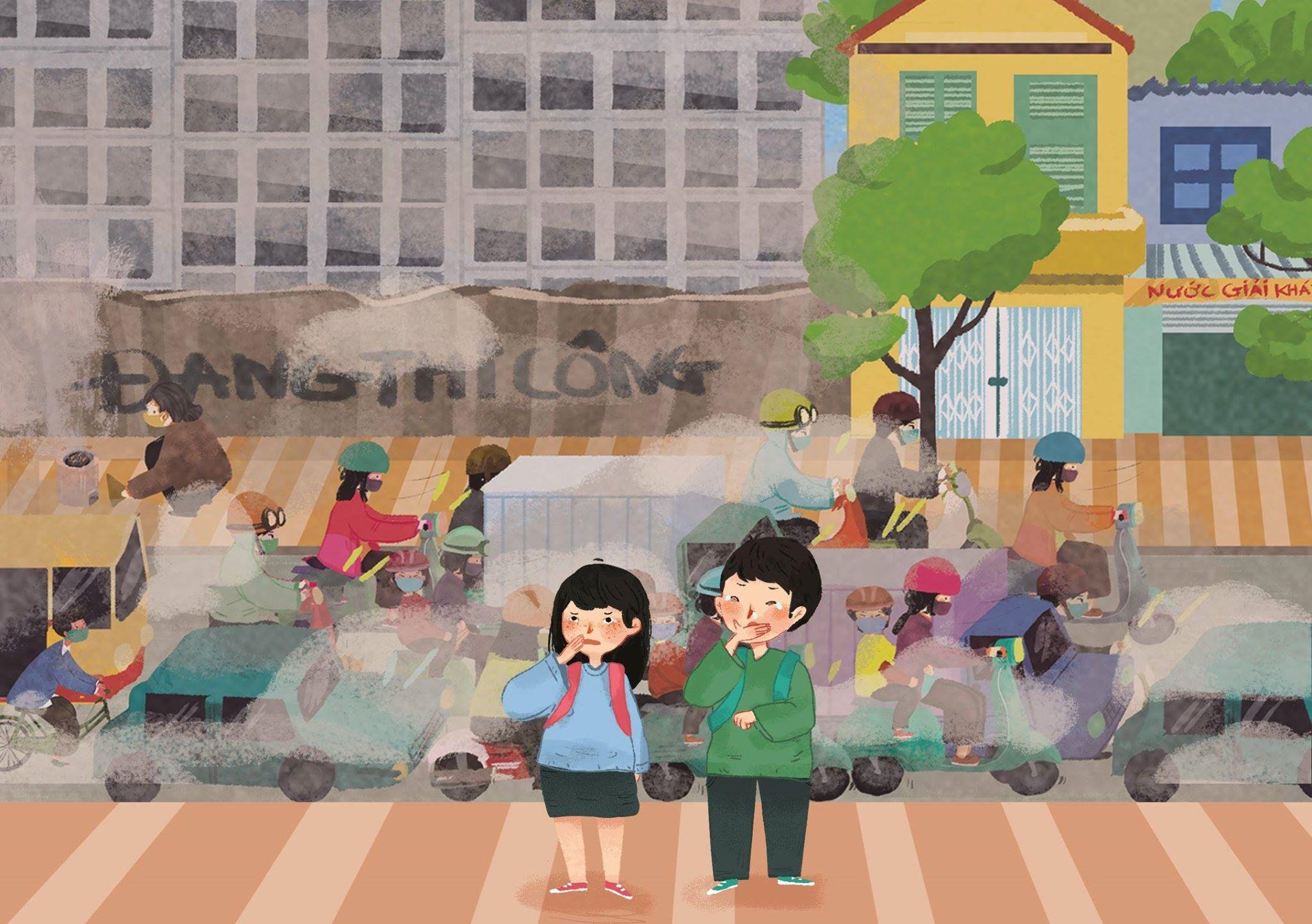 Ô nhiễm không khí tại đô thị đã trở thành vấn đề mới nổi | Ảnh: Live&Learn