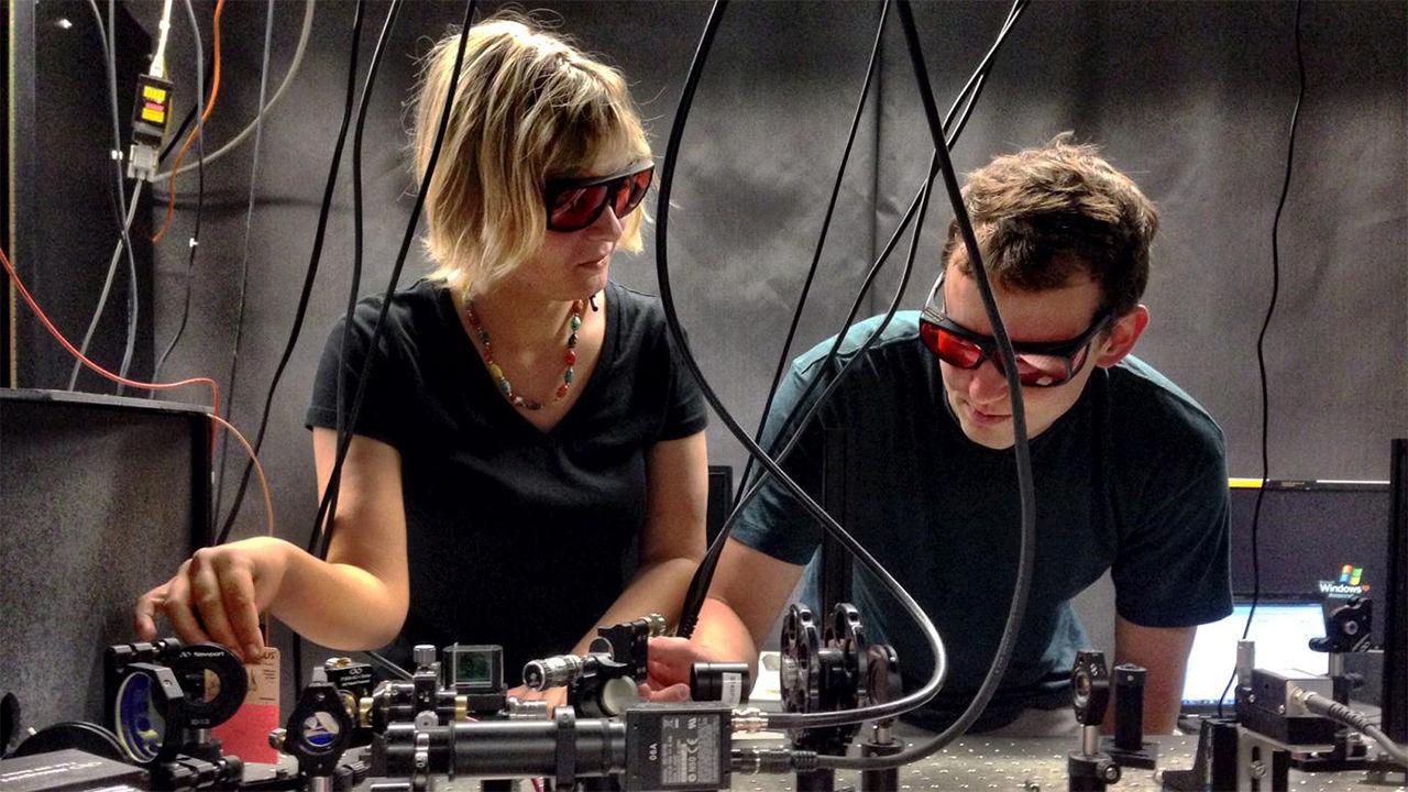 Sinh viên ngành lượng tử tại ĐH Chicago.