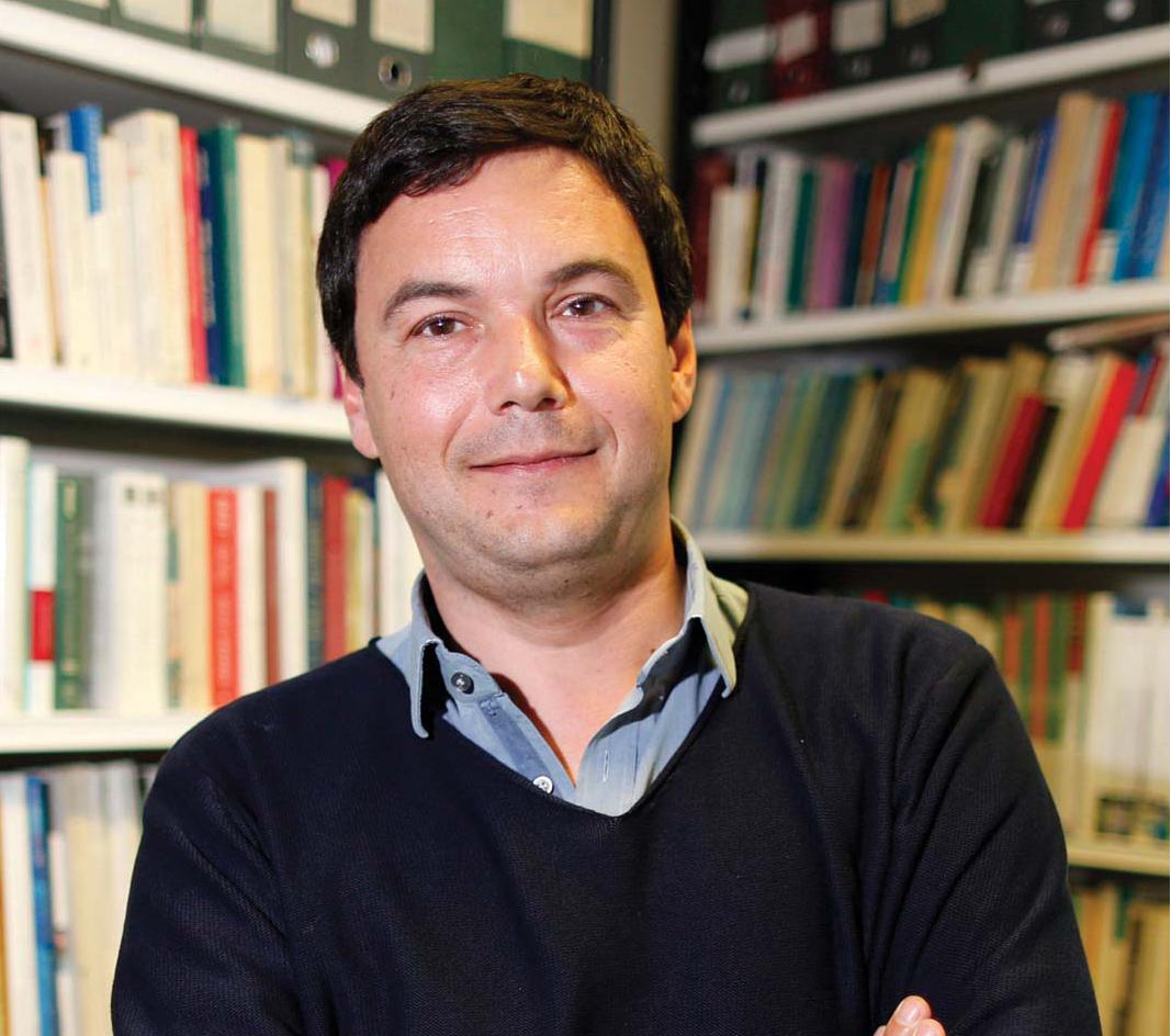 Thomas Piketty - nhà kinh tế học người Pháp chuyên nghiên cứu về sự giàu có và bất bình đẳng thu nhập.