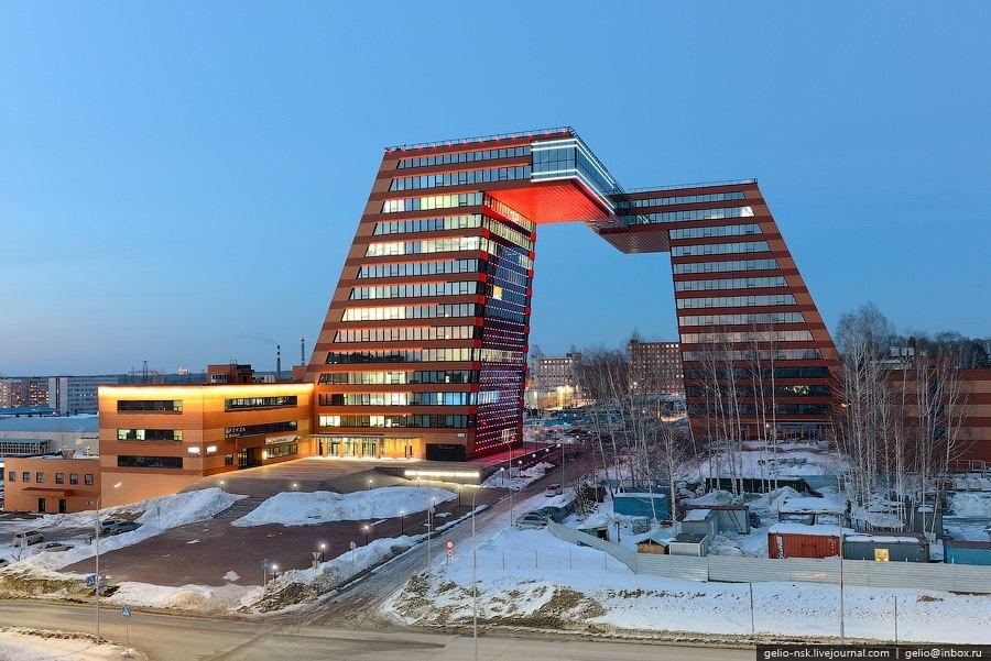 Thành phố tri thức Akademgorodok tại Siberia. Ảnh: gelio.livejournal.com.