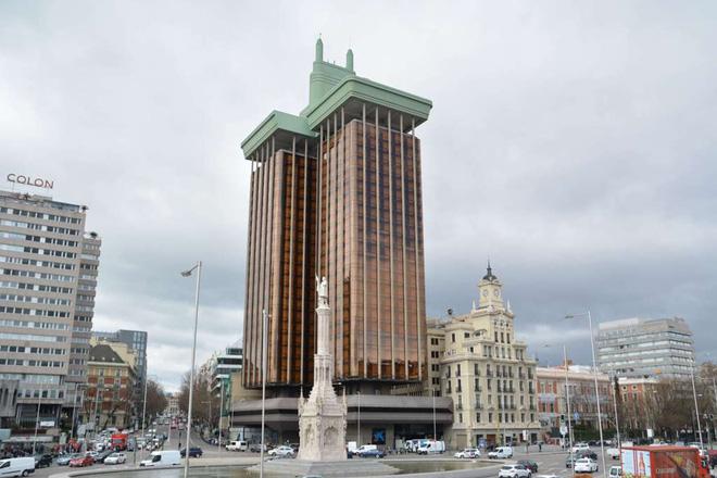 Tòa nhà Torres de Colón hiện nay. Ảnh: Amusing Planet.