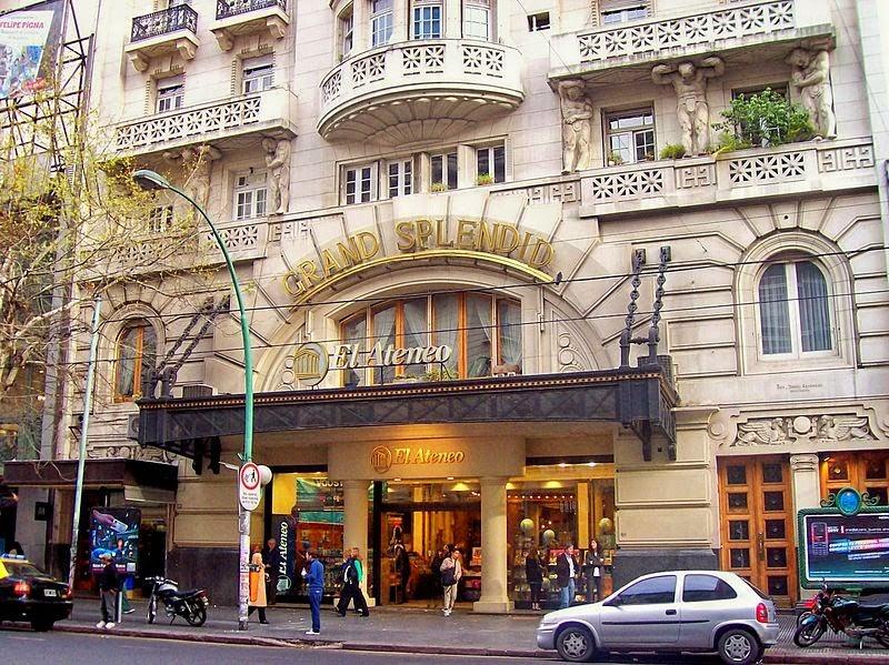 Mặt tiền bên ngoài El Ateneo Grand Splendid. Ảnh: Wikipedia.