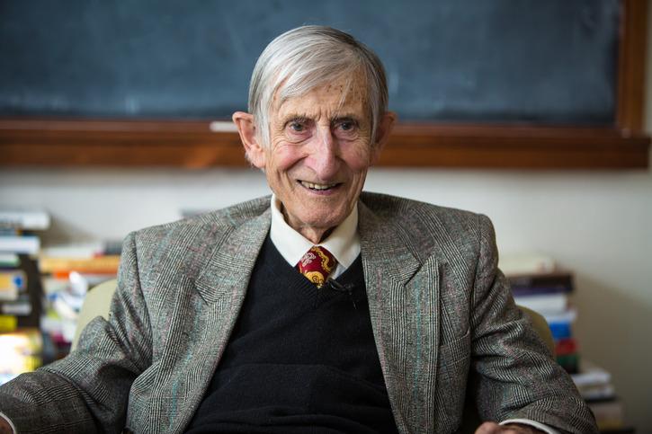 Freeman Dyson tại Viện nghiên cứu cao cấp Princeton năm 1972. Nguồn: ias.edu