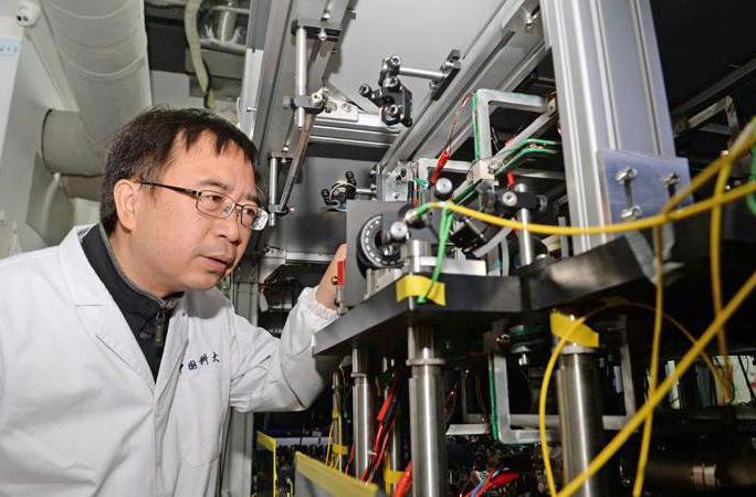 Pan Ji Wei là người đưa Trung Quốc dẫn đầu thế giới về truyền thông lượng tử. Nguồn: China daily.