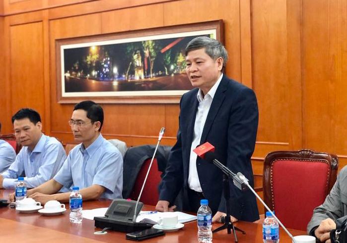 Thứ trưởng Bộ KH&CN Phạm Công Tạc phát biểu tại cuộc họp lấy ý kiến các nhà khoa học lần thứ hai của Bộ KH&CN diễn ra ngày 17/3/2020. Ảnh: KH&PT
