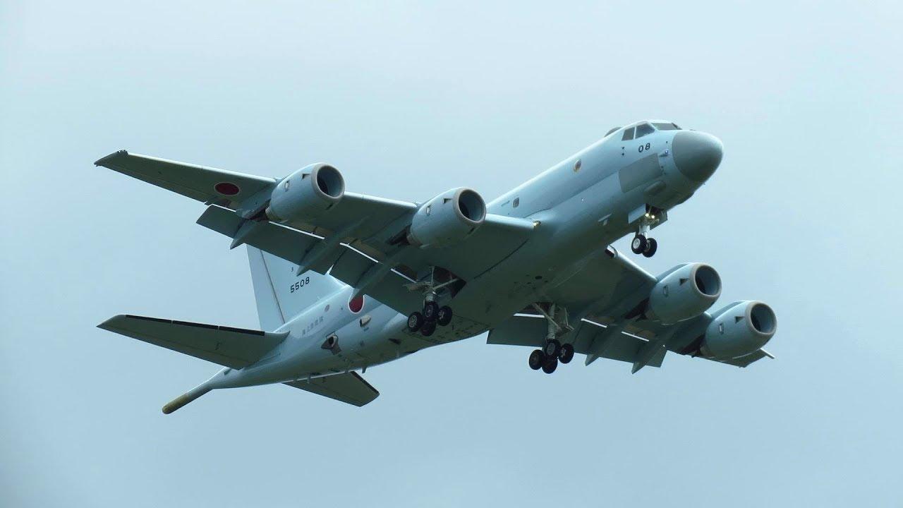Máy bay chống tàu ngầm P1 do Kawasaki chế tạo, hiện đang được sử dụng trong biên chế của Hải quân Nhật Bản. Ảnh: JMSDF.