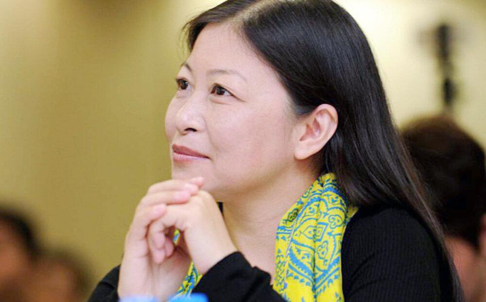 Chị Nguyễn Phi Vân, chủ tịch của Vietnam Angel Network, đơn vị tổ chức Future U.