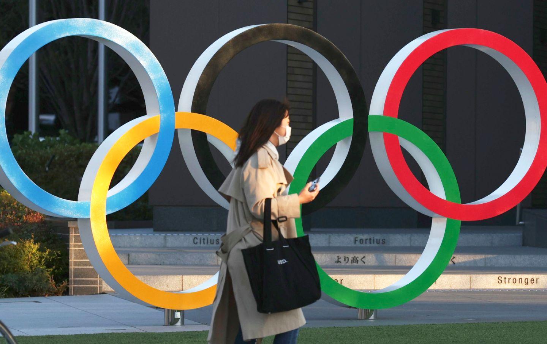 Nhật Bản hoãn Olympic Tokyo lại một năm do Covid-19. Ảnh: AP.
