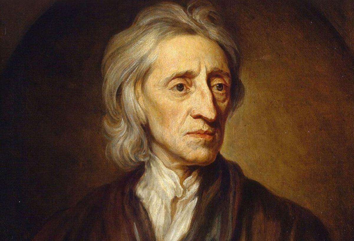Một phần bức chân dung John Locke (1632-1704) do Godfrey Kneller vẽ năm 1697. Ảnh: INT